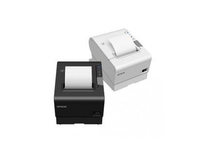 EPSON pokl.TM-T88VI,bílá, RS232, USB, Ethernet,zdroj,buzzer, kabel