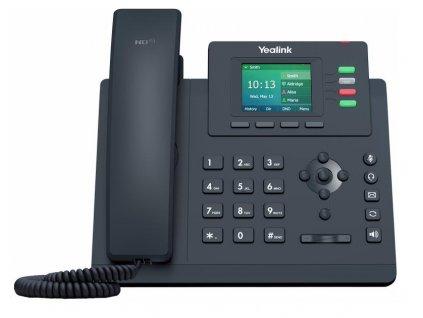 Yealink SIP-T33G SIP telefon, PoE, 2,4'' 320x240 barevný LCD, 4 x SIP úč., GigE