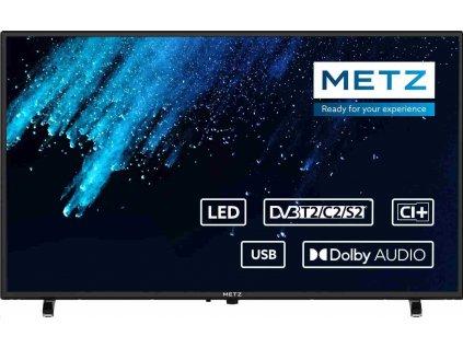 "METZ 32"" 32MTC1000Z, LED, 81cm, HD (1366x768), 8ms, DVB-T2/S2/C, HDMI, USB"