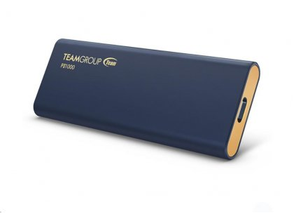 Team external SSD 2TB PD1000 USB 3.2 Gen-2 10Gbps (1000/900MB/s), IP68 waterproof, navy blue