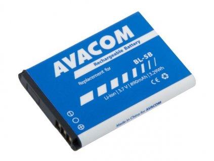 Baterie do mobilu Nokia 3220, 6070, Li-Ion 3,7V 890mAh (náhrada BL-5B)