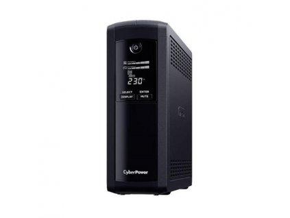 CyberPower Value Pro serie GreenPower UPS 1200VA/720W, české zásuvky