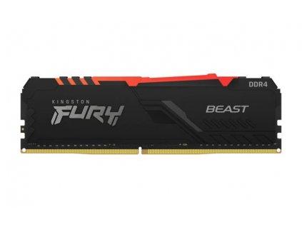 KINGSTON 16GB 3733MHz DDR4 CL19 DIMM 1Gx8 FURY Beast RGB
