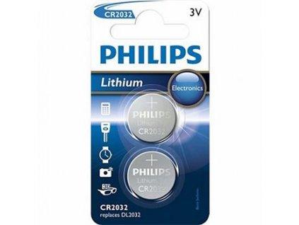 Philips baterie CR2032 - 2ks