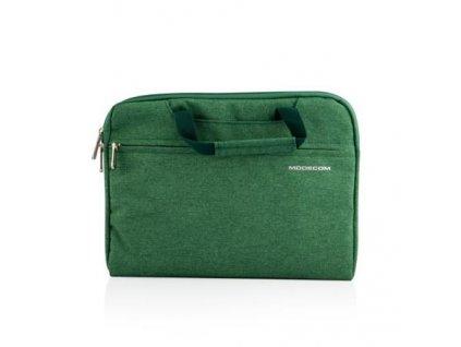 """Modecom taška HIGHFILL na notebooky do velikosti 11,3"""", 2 kapsy, zelená"""