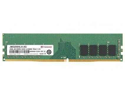 Transcend paměť 4GB DDR4 3200 U-DIMM (JetRam) 1Rx8 CL22