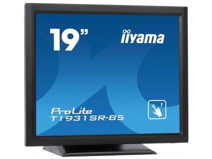19'' iiyama T1931SR-B5 - TN,SXGA,5ms,250cd/m2, 1000:1,5:4,VGA,HDMI,DP,USB,repro,výška.