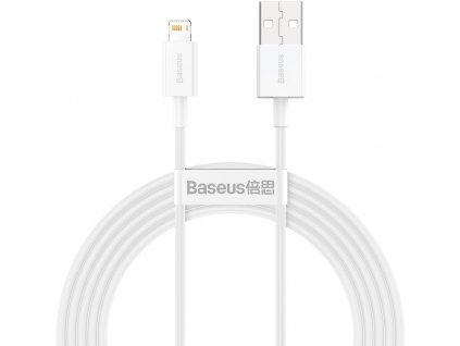 Baseus CALYS-C02 Superior Fast Charging Kabel Lightning 2.4A 2m White