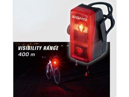 Sigma CUBIC FLASH zadní světlo