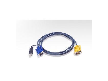 ATEN integrovaný kabel 2L-5206UP pro KVM USB 6 metrů
