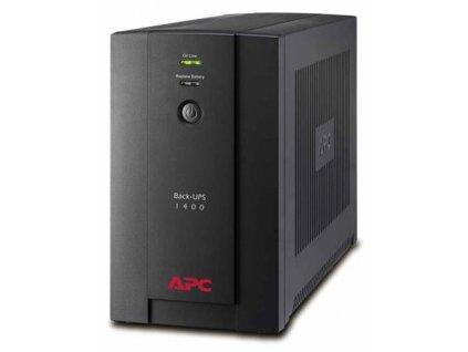 APC Back-UPS BXU 1400VA (700W), AVR, USB, české zásuvky