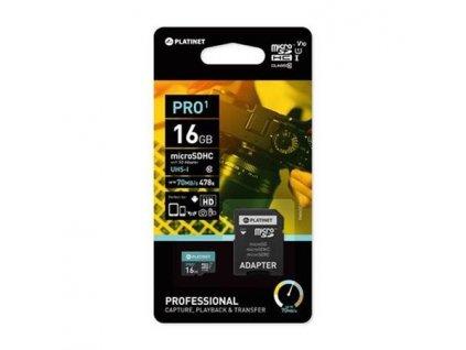 PLATINET microSDHC 16GB class10 44000
