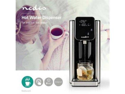 Nedis KAWD300FBK - Automat na horkou vodu | 2,7 l | Digitální