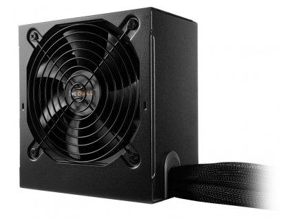 Be quiet! / zdroj SYSTEM POWER B9 600W / active PFC / 120mm fan / 80PLUS Bronze / bulk