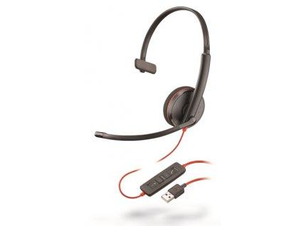 Plantronics Blackwire C3210, Mono, USB