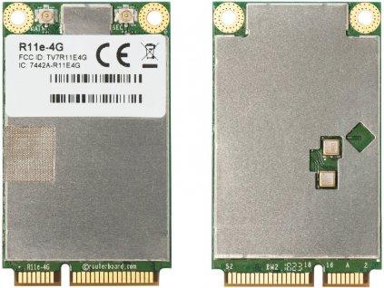 MikroTik R11e-4G - 4G/LTE miniPCI-e karta, 2x u.Fl
