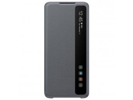 Samsung Flipové pouzdro Clear View S20 Ultra Gray