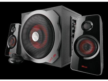 zvuk. systém TRUST GXT 38 2.1 Speaker Set 60W