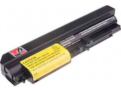 Baterie T6 power IBM ThinkPad T61 14,1 wide, R61 14,1 wide, R400, T400, 6cell, 5200mAh