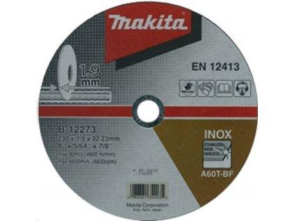 Řezný kotouč Makita B-12273, 230 mm