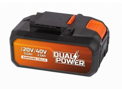 Baterie Powerplus POWDP9037 40 V Li-Ion 2,5 Ah Samsung články