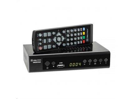 DVB-T2 přijímač CABLETECH URZ0336A DVB-T2 H.265