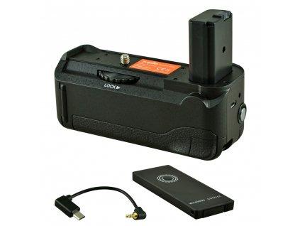 Baterry Grip Jupio pro Sony A6000 / A6300 / A6400 + kabel (2x NP-FW50)