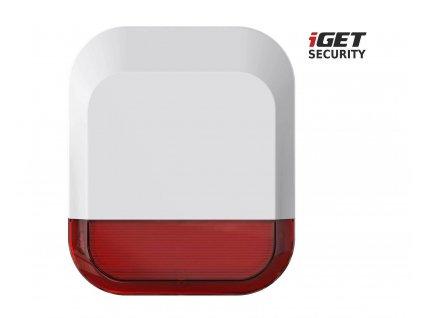 Siréna iGET SECURITY EP11 Bezdrátová venkovní, pro alarm iGET SECURITY M5