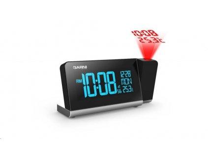 GARNI 165 Arcus - digitální budík s projekcí času a vnitřní teploty