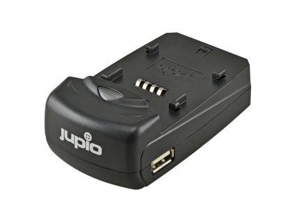 Nabíječka Jupio Single Charger pro Li-Ion baterie - univerzální (při použití redukcí)