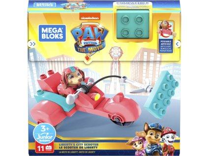 Hračka Mattel Tlapková patrola Liberty a jeji motorka