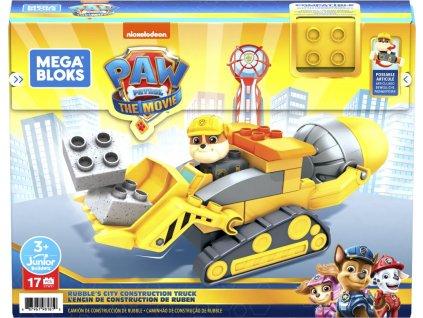 Hračka Mattel Tlapková patrola Rubblův buldozer
