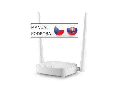 Tenda N301 WiFi N Router 802.11 b/g/n, 300 Mbps, WISP, Universal Repeater, AP, 2x 5 dBi antény