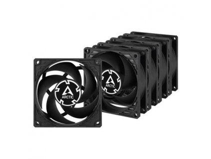 ARCTIC P8 PWM PST, 80x80x25 mm case fan, 3000 RPM, 4-pin, value pack 5ks