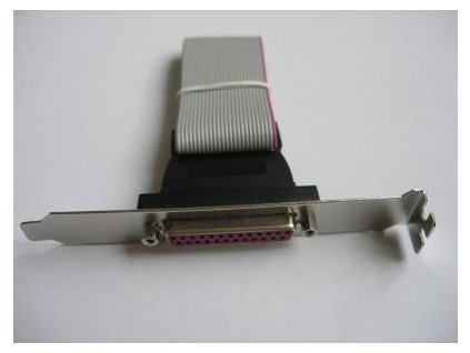 LPT port - 40 cm - zadní záslepka do case