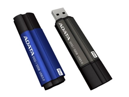64GB USB 3.0 ADATA S102 Pro šedá (100/50MB/s)