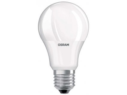 Osram LED žárovka E27 6,0W 2700K 470lm VALUE A40-klasik matná