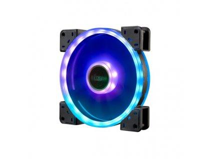 AKASA LED ventilátor Vegas TL / AK-FN102 / 140mm / 3pin FAN / 4pin RGB LED / RGB LED