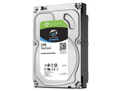 """Seagate SkyHawk 3TB HDD / ST3000VX009 / Interní 3,5"""" / 5400 rpm / SATA 6Gb/s / 256MB"""