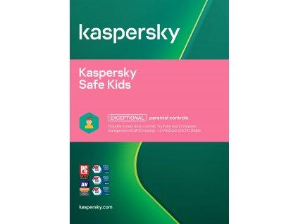Kaspersky Safe Kids 1 uživatel 1 rok Nová