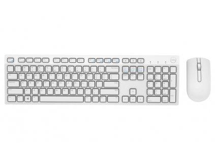 DELL KM636 bezdrátová klávesnice a myš/ UK/ QUERTY/ bílá