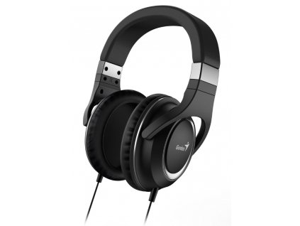 GENIUS headset HS-610/ černý/ 4pin 3,5 mm jack