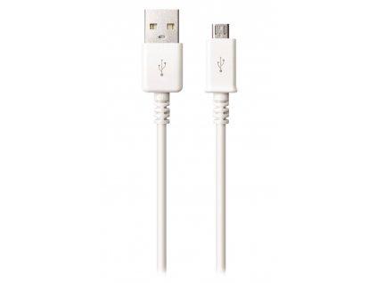 ColorWay CW-CBUM005-WT USB 2.0, zástrčka A - zástrčka micro B, 1m, 1,2A, bílý