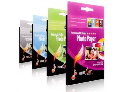 Fotopapír PrintLine A6 Professional RC pearl 260g/m2, matný, 20-pack
