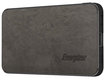 Energizer powerbanka UE5003C 5000mAh, 5V, 2.1A, USB-C vstup i výstup, šedá
