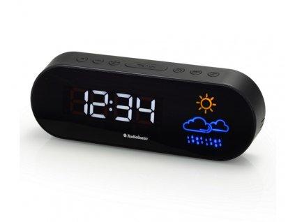 TOPCOM AudioSonic CL-1489 Rádiobudík s předpovědí počasí