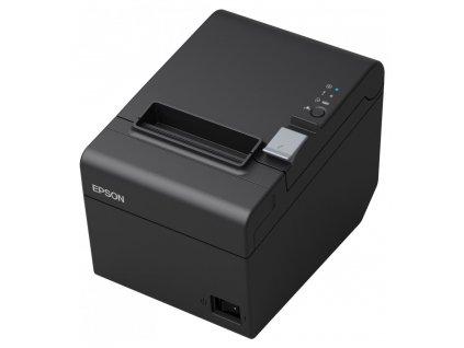 EPSON TM-T20 III/ Pokladní tiskárna/USB/ Seriova/ Černá/ Řezačka/ Včetně zdroje