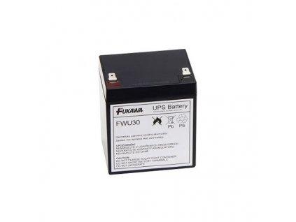 FUKAWA olověná baterie FWU30 do UPS APC/ výměnná sada za RBC30