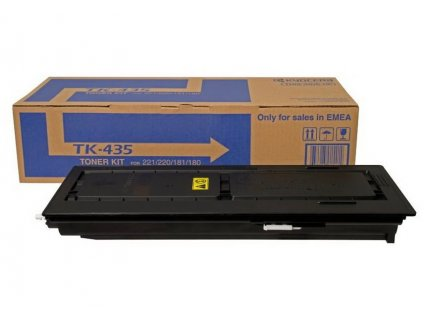 Kyocera toner TK-435/ TASKalfa 180 + 181 + 220 + 221/ 15 000 stran/ Černý