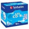 VERBATIM CD-R(10-Pack)Jewel/Crystal/52x/700MB